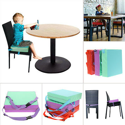 Portable Baby Kids Toddler Feeding High Chair Booster Seat Pad Dining Cushion