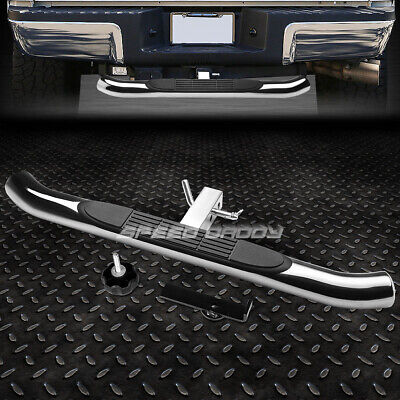 "37""x 3.25""PEDAL CLASS III 2""RECEIVER CHROME TRAILER TAILGATE/HITCH REAR STEP BAR"