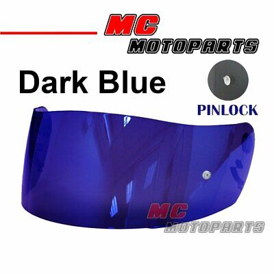 Blue Helmet Visor for SHOEI CX1-V X-11 Raid 2 XR1000 X Spirit Multitech AU