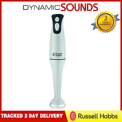 Russell Hobbs 22241 Food Collection Hand Blender, 2 Speed Settings 200W White