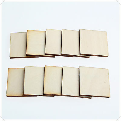 1cm 2cm 3cm Wide WOODEN WOOD SQUARE DECOR IDEAL CRAFT CARD MAKING SCRAPBOOKING