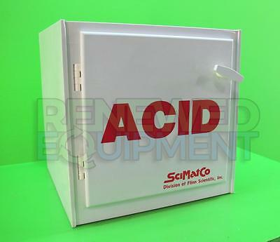 SciMatCo Polypropylene Acid Safety Storage Cabinet 2.5L #1