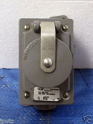 LOT (5) Russellstoll Receptacle 3753