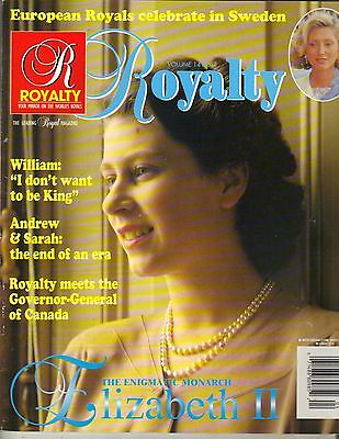 QUEEN ELIZABETH UK Royalty Magazine Vol 14 NO 4 PRINCE WILLIAM ANDREW SARAH