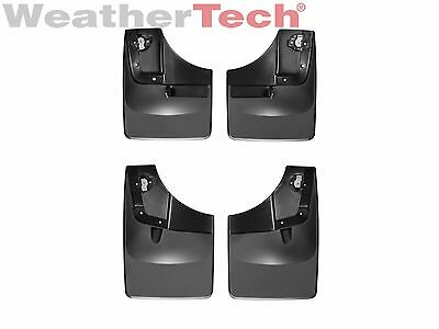 WeatherTech No-Drill MudFlaps for Ford F-150 - 2015-2016 - Front & Rear Set