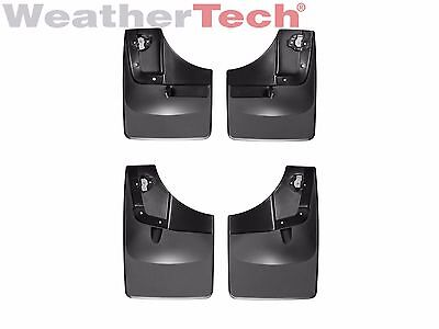 WeatherTech No-Drill MudFlaps for Ford F-150 - 2015-2017 - Front & Rear Set