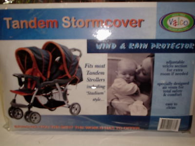New Valco tandem storm cover universal rain cover Twin Double