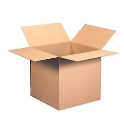 25 8x6x4 Cardboard Packing Mailing Moving Shipping Boxes Corrugated Box Cartons
