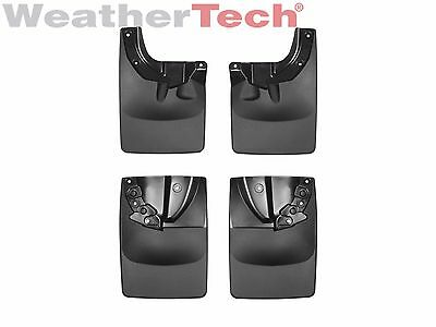 WeatherTech No-Drill MudFlaps for Toyota Tacoma - 2016-2018 - Front & Rear Set