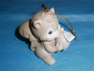 Precious Moments Rare Ornament-Nutty About The Holidays-Prod.mark Butterfly