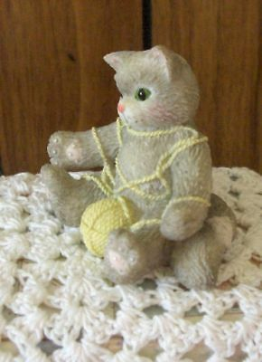"""Calico Kitten By Enesco """"a Playfull Afternoon"""" Numbered"""
