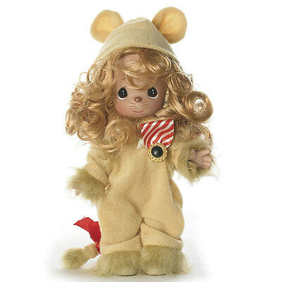 Precious Moments LION OF COURAGE The Wizard of OZ Vinyl Doll NEW by LINDA RICK