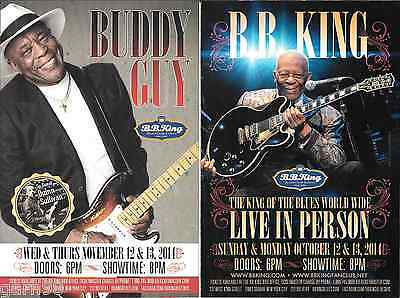 BB King Buddy Guy Concert Handbill Mini-Poster BB Kings NYC 2014