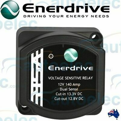 Enerdrive Voltage Sensitive Relay 12V Vsr Isolator 140A Dual Battery System