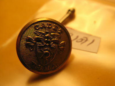 U.s.ma Metal Button Or Badge Shown N The Pictures Don't Know About It Id#b1071