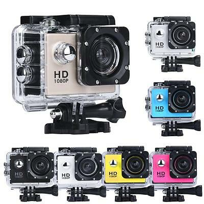 "WiFi Ultra 4K HD 2"" 1080P Waterproof DV Action Sports Camera Video Camcorder US"