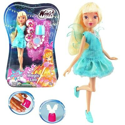 Winx Club - Magic Lab - Doll Fairy Stella & Nail Styles Set - Season 7