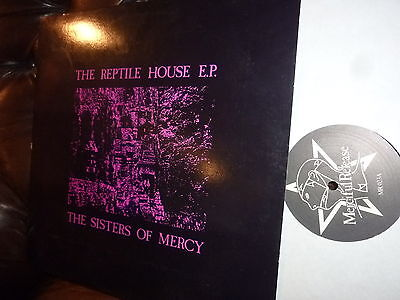 Sister of Mercy The reptile house E.P. Merciful Release MR 023  1983