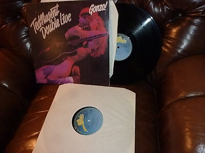 Ted Nugent  Gonzo Double live  Epic EPC 88282 1978 England 2 LP