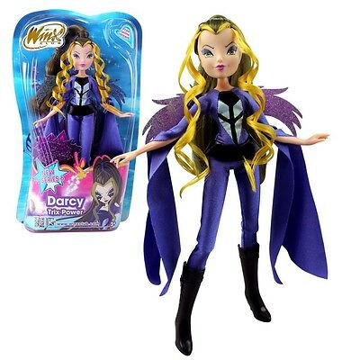 Winx Club - Bambola - Strega Witch Darcy Trix Power 28 centimetri