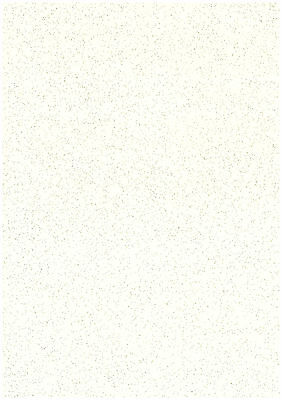 Pack Of 10 Sheets Stone Cream A4 Stardust Sparkling Glitter Card Craft 285gsm