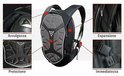 Dainese Zaino moto D-exchange Backpack-s nero