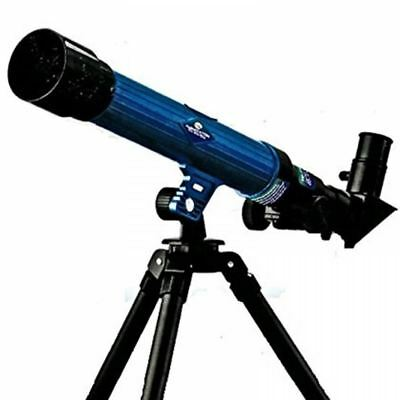 CHILDRENS KIDS ASTRONOMICAL TELESCOPE MIRROR TRIPOD 20x30x40x POWER 30mm XMAS
