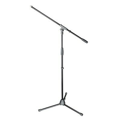Adam Hall Stands S5BE 162cm Professional Microphone Mic Stand with 76cm Boom Arm