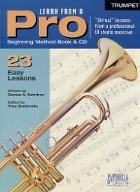 LEARN FROM A PRO Trumpet Book & CD