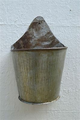 Vintage industrial wall hanging container planter kitchen utensil wall pocket 5
