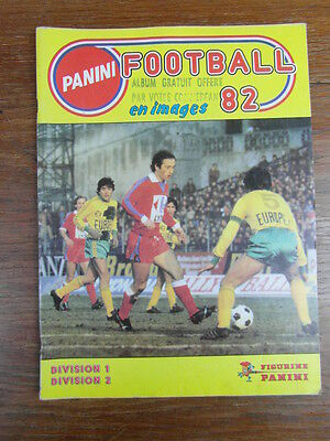 (Dm) Album Panini Stickers Football Foot 82 1982 France French League