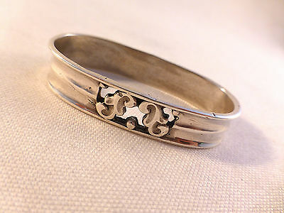 Very Nice Sterling Pierced Oval Napkin Ring(s)