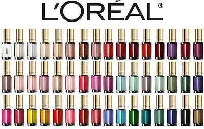 L'oreal Color Riche Nail Polish Brand New Red Pink White Brown **choose Shade**