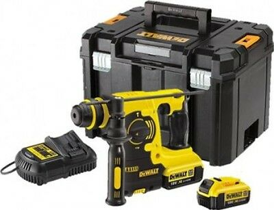 DeWalt DCH253 M2 SDS Plus Rotary Hammer 18V 2 x 4.0Ah Li-Ion and Carrier Case