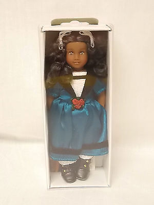 """American Girl CECILE MINI DOLL W/ CLEAR COVER + BOOK 6"""" Historical NEW Retired"""