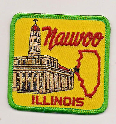 Souvenir Patch - Nauvoo, Illinois