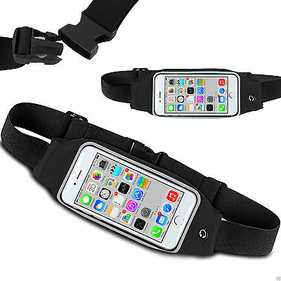 Sports Running Jogging Gym Cycling Waist Band Bum Bag Case For Various Mobiles