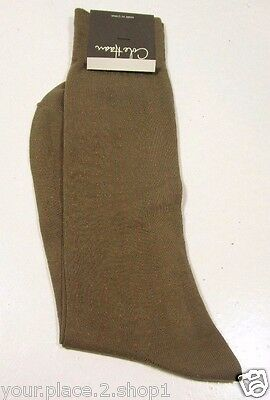 Cole Haan Men's Light Brown Ciotton Nylon Single Pair Sock