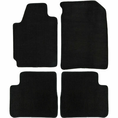 UAA Custom-fit Black Carpet Car Floor Mats Set for Nissan Altima 2002-2006