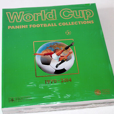PANINI BUCH LEXIKON BOOK World Cup Football Collections 1970 - 2014 SOFTCOVER