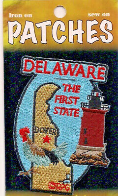 Souvenir Patch - The State Of Delaware - The First State - Dover