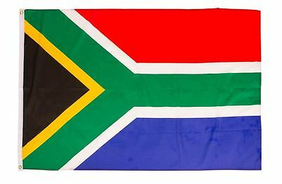 South Africa Flag 5ft x 3ft RSA African Republic Rugby Cricket Olympics