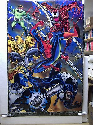 Mark Bagley & Larry Mahlstedt: Lethal Foes of Spiderman Poster (USA)