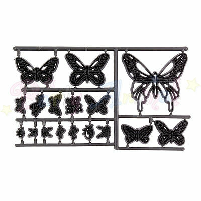 Sugarcraft Patchwork cutters- Butterflies, Ladybirds - Embosser Cake Tools