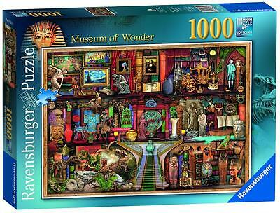 Ravensburger 19634 Discover Historic Museum of Wonder Jigsaw Puzzle 1000 Piece