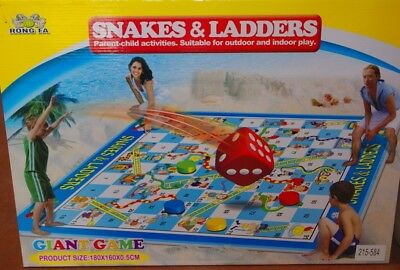 Rong Fa 215-584 Snakes + Ladders (Leiterspiel)