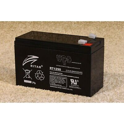 Ritar RT1290 - Accumulator 12V 9Ah battery cell - new!