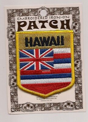 Souvenir Flag Patch - State Of  Hawaii