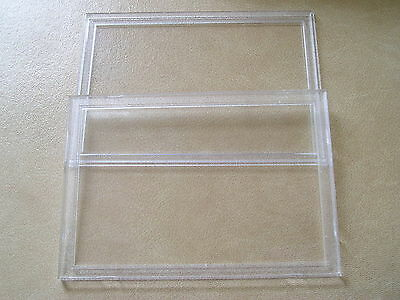 NEW HARD PLASTIC PERSPEX SANDHILL CASE FOR COIN SET 173 x 121 £4.50 FREE UK P&P