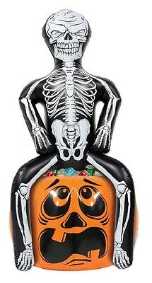 Inflatable Skeleton Halloween Party Cooler